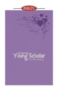 Young Scholar Study Bible (NKJV) Lavender Leathersoft