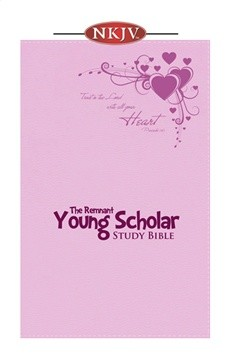 Young Scholar Study Bible (NKJV) Pink Leathersoft
