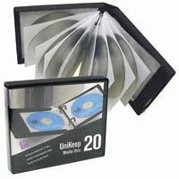 CD/DVD Cases holds 20