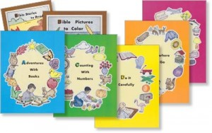 Rod & Staff ABC Pre-School Book set (UK ONLY)