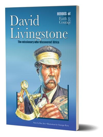 Story of David Livingstone Hard back illustrated book for children