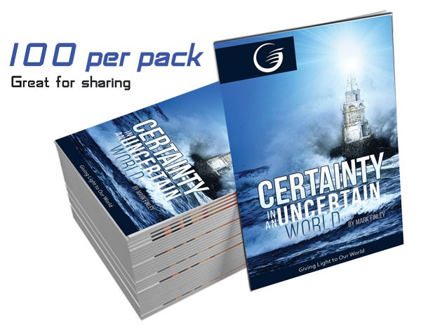 Certainty in an Uncertain World GLOW Tracts Pk 100