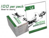 Breaking Addictions GLOW Tracts Pk 100
