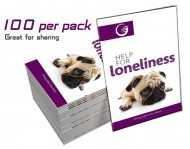 """Help for Loneliness"" GLOW Tracts (100 Per Pack)"