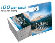 """Talking with God"" GLOW Tracts (100 per pack)"