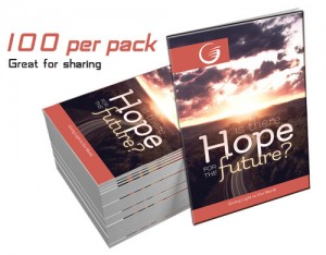 """""""Is There Hope for the Future?"""" GLOW Tracts (100 per pack)"""