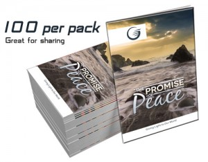 """The Promise of Peace"" GLOW Tracts (100 per Pack)"