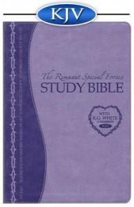 Remnant Study Bible (KJV) LAVENDER Soft Leather