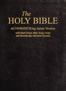 The Holy Bible KJV with SDA Hymnal and Mark Finley Studies