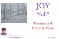 "JOY ""full"" Testimony & Country Move booklet - Joy Rayne"