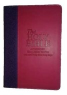 KJV Holy Bible - With Mark Finley Studies - Pink/Lilac
