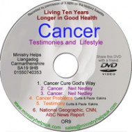 Cancer, Testimonies and Lifestyle DVD