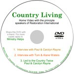 Country Living single DVD