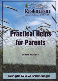Practical Helps for Parents Single DVD