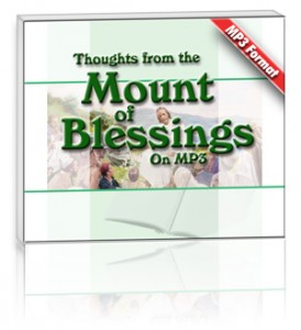 Thoughts from the Mount of Blessings (1 MP3 CD Set)