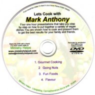 LETS COOK with Mark Anthony DVD
