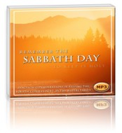 Remember the Sabbath Day (1 MP3 CD)