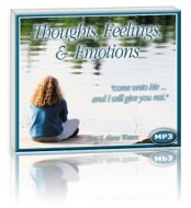 Thoughts, Feelings & Emotions (1 MP3 CD)