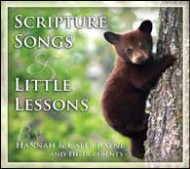 Scripture Songs & Little Lessons CD
