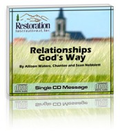 Relationships God's Way (1 CD)