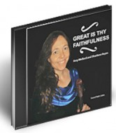 Great is Thy Faithfulness Music CD - Amy Wellard