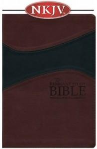 Remnant Study Bible (NKJV) BURGUNDY/BLACK Soft Leather
