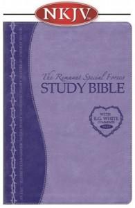 Remnant Study Bible (NKJV) LAVENDER Soft Leather look