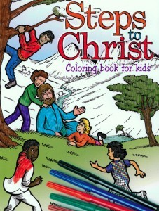 Steps to Christ Colouring Book