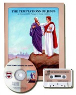 The Temptations of Jesus (Book & CD)